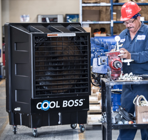 Michigan Waste Oil Heaters & HLVS Fans | Dows Equipment Services - cool_boss